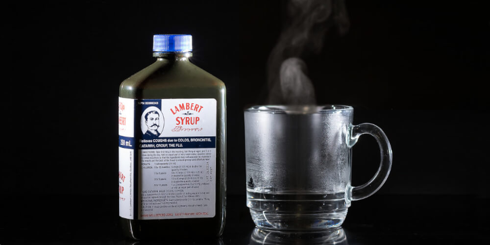 Lambert Syrup, natural remedy for cough during pregnancy