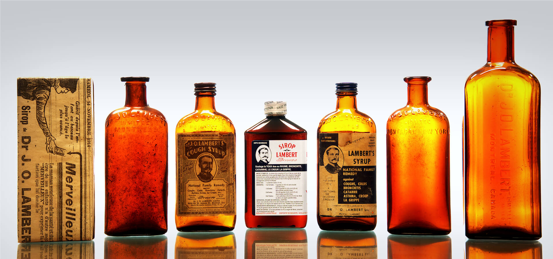 History of Lambert syrup, your natural cough syrup since more than 120 years !
